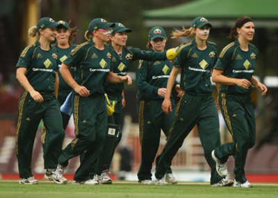 The Australian women's cricket team, the Southern Stars