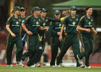 The Australian women's cricket team, the Southern Stars