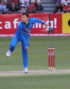 Johan Botha, Adelaide Strikers captain in BBL|02 (photo mine)