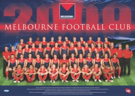 Melbourne Demons 2009 team (sourced from Google Images)
