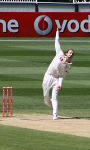 Nathan Lyon v India, 2011 (photo mine)
