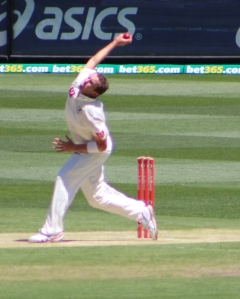 Peter Siddle, Boxing Day 2012 (photo mine)