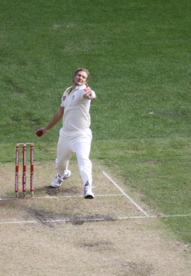 Shane Watson has been left in the lurch in this crisis (Dec 2010, photo mine)