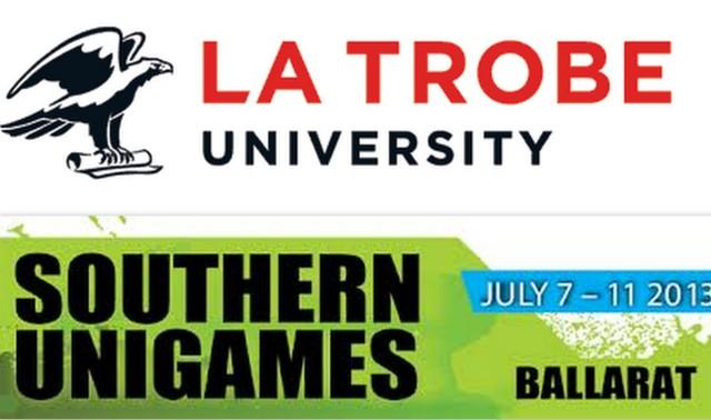 Southern University Games 2013/La Trobe University Banner