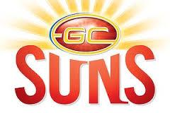 Gold Coast Suns logo (from Sportin History)