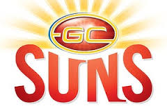 Gold Coast Suns logo (from Sportin History)