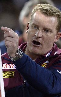 Brisbane Lions coach Michael Voss (sourced from AFL.com.au)