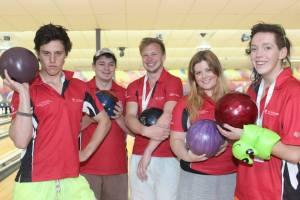 A very successful tenpin bowling team (photo mine)