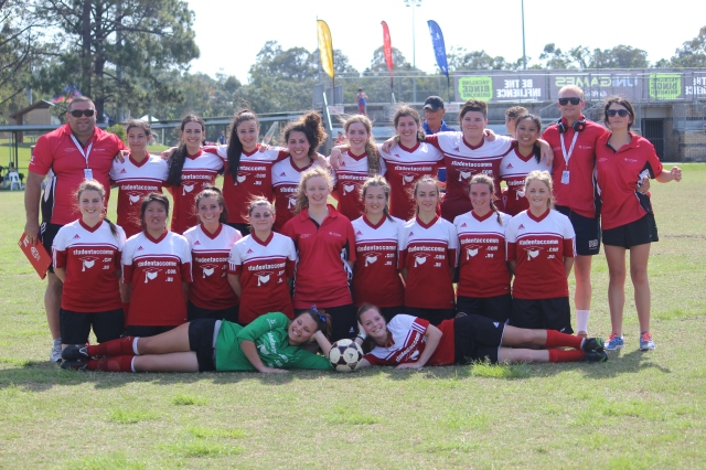 Victorious Women's soccer team (photo mine)