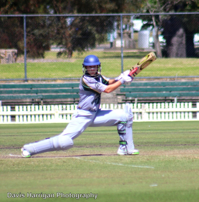 Australian, Victorian & Box Hill superstar Meg Lanning in action in the VWCA, Nov 17, 2013 (photo mine)