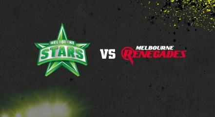 Stars v Renegades banner (Google Images)