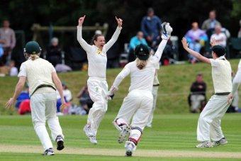 Australian women celebrate at Wormsley in 2013 (Google Images)