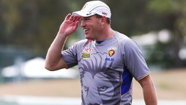 Leppitsch at Lions Training (photo: News Ltd/Steve Pohlner