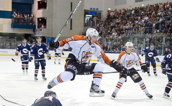 Mustangs v Ice, 2013 (photo: M. Lyons/Triple M online)