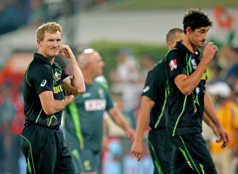 The expressions from Bailey & Starc sums up Australia's campaign (photo: Getty Images)