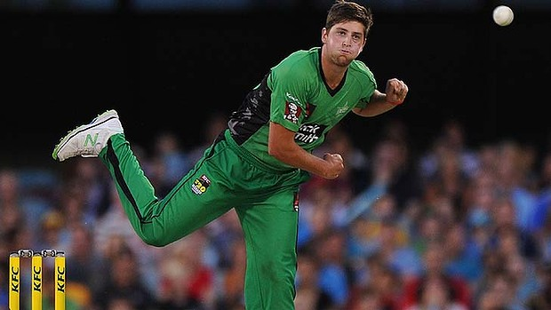 James Muirhead playing for the Melbourne Stars (photo: SMH/Getty Images)
