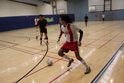 Swinburne v UTAS, men's futsal (photo: Davis Harrigan)