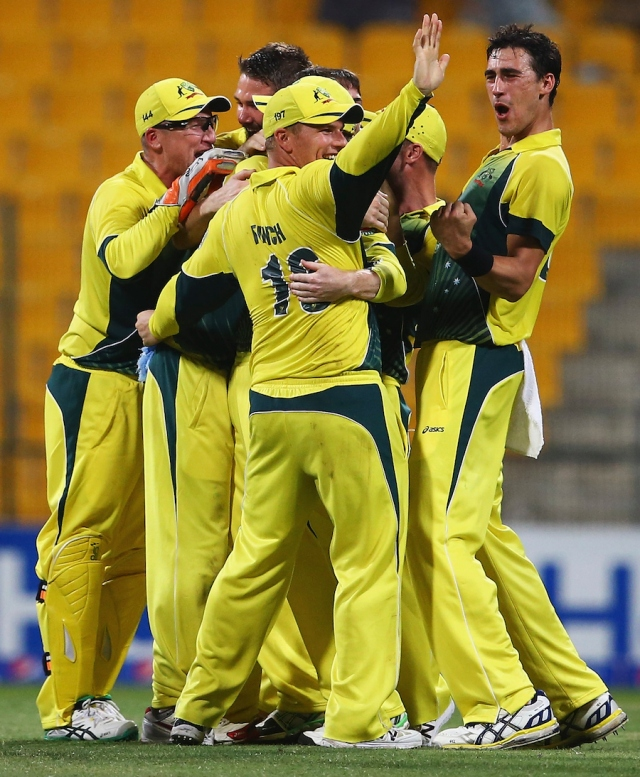 Australia celebrate over Pakistan in the 3rd ODI (photo: Getty Images)