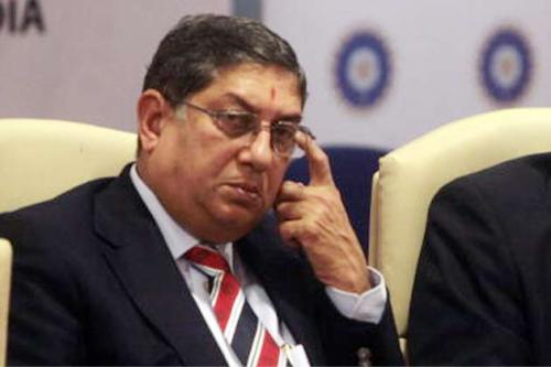 Srinivasan at a recent meeting (picture: Google)
