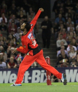 Fawad Ahmed took 1/7 from 4 overs (photo: Davis Harrigan)