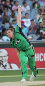James Faulkner in action with the ball (photo: Davis Harrigan)