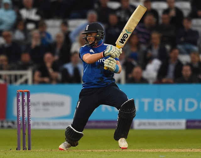 Joe Root plays through the off side in England's ODI win (photo: Getty Images)
