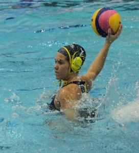 Sending a ball sailing into the goals (photo: Davis Harrigan)