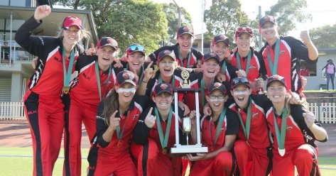2015 WNCL victors South Australia Scorpions. Source: Cricket Australia