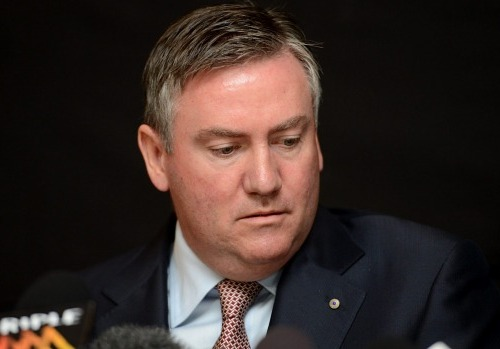 Eddie McGuire, the man who ignited the controversy (Pat Scala)